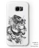 Arabian horse Equestrian iphone or samsung galaxy cell phone case