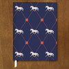 Trotting Horses Equestrian Designer Hardbound Journal