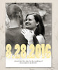 Photo Save The Date Flat Card with Envelopes (10 pk)