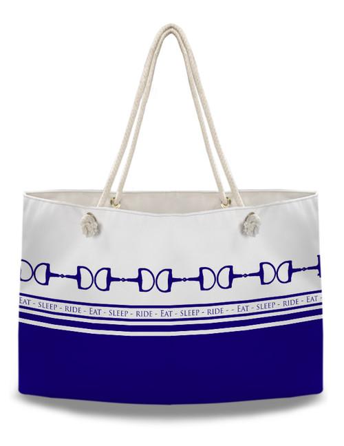 Eat Sleep Ride Equestrian Weekender Tote Bag