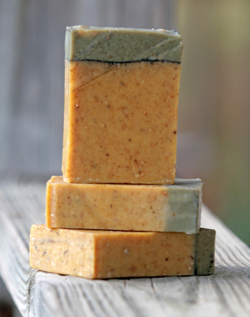 Eat Your Carrots Infused Essential Oil Soap