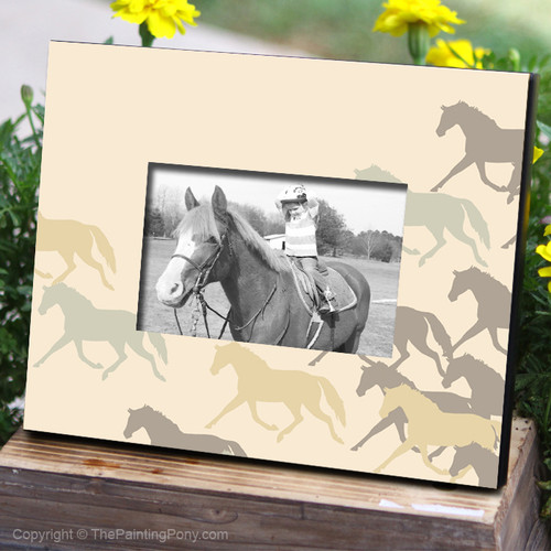 Herd of Horses Photo Frame