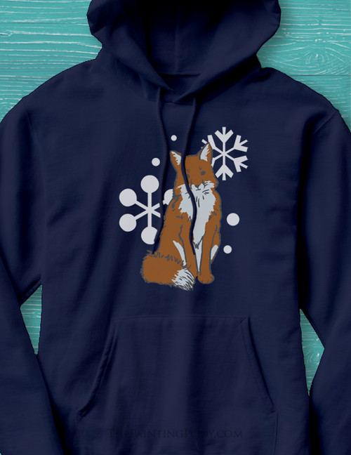 Winter Fox Hoodie