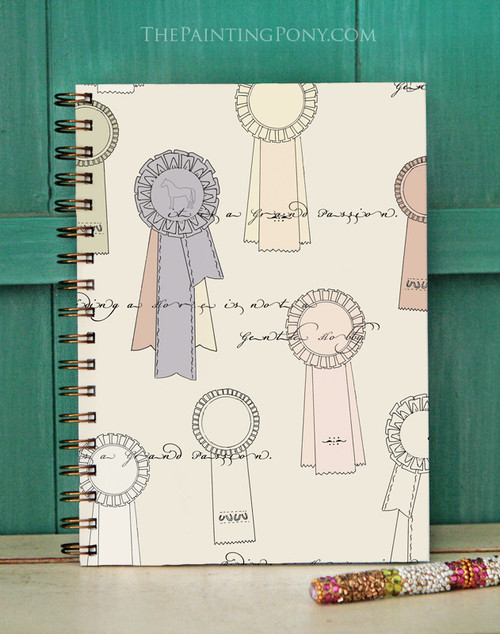 Equestrian Ribbons Bullet Journal