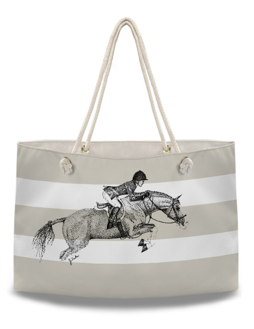 Hunter Pony Equestrian Weekender Tote Bag