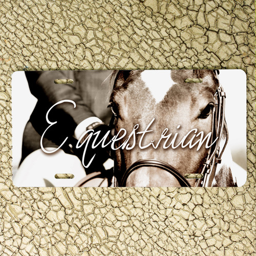 Equestrian Horse Vanity License Plate