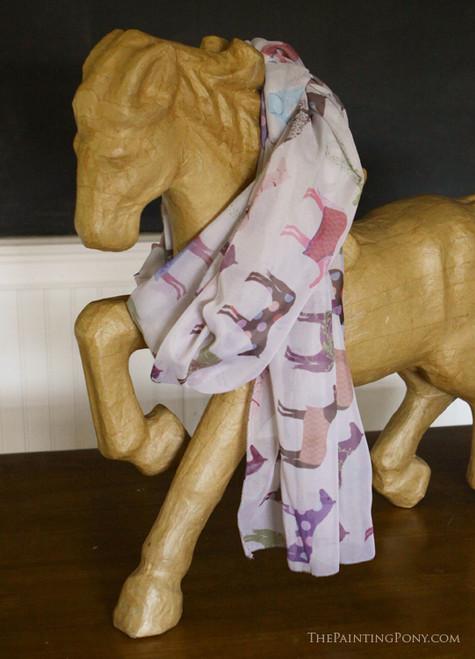 Equestrian Horse Scarf