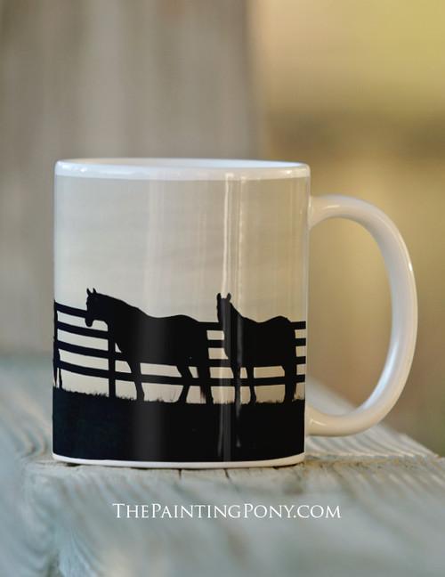 Country Horse Mug