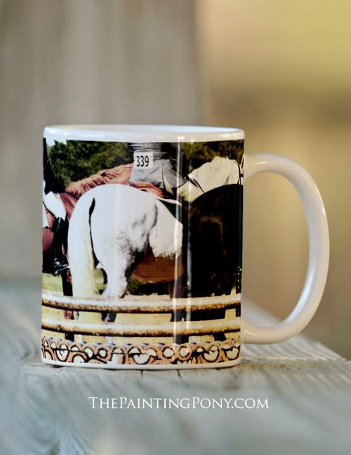 The Line Up Horse Show Mug