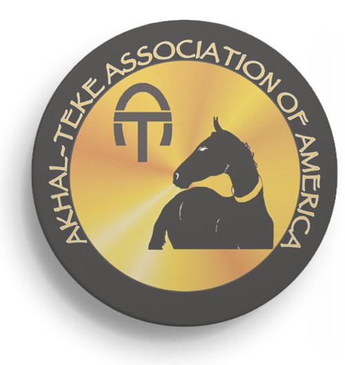 Akhal-Teke Logo Sandstone Coasters