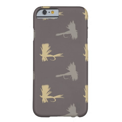 Fly Fishing Lures Phone Case for Iphone and Samsung Galaxy Phones