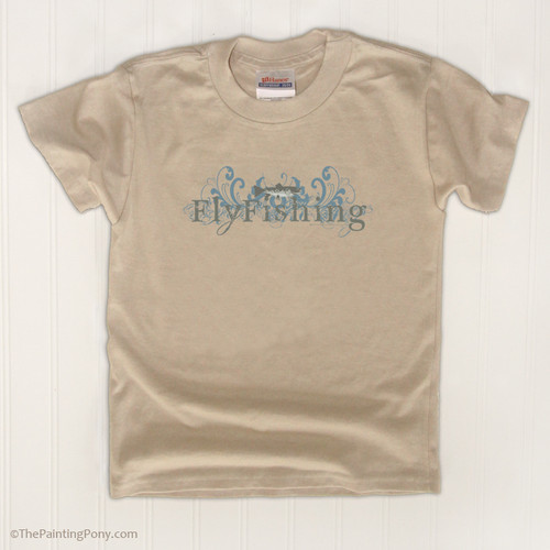 Fly Fishing Kids T-Shirt