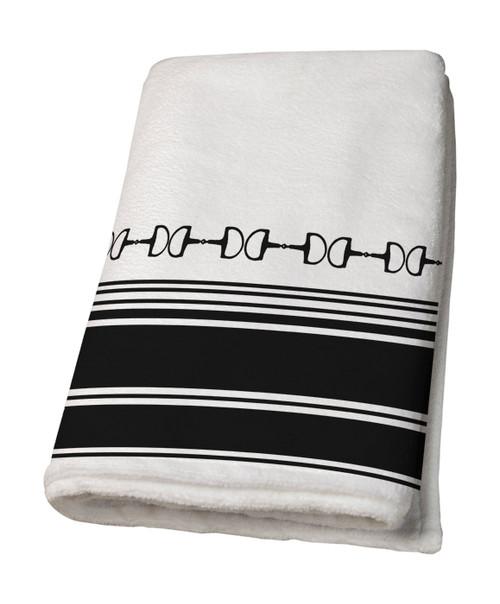 Horse Bits Bath Towel