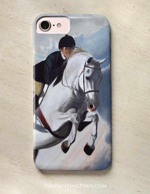 Hunter Jumper Horse Phone Case