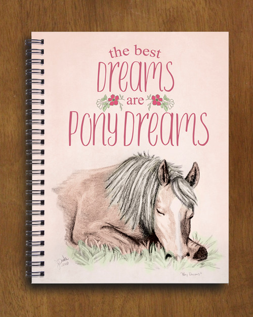 Pony Dreams Spiral Notebook