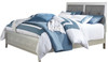 Rianni Silver Upholstered Bed