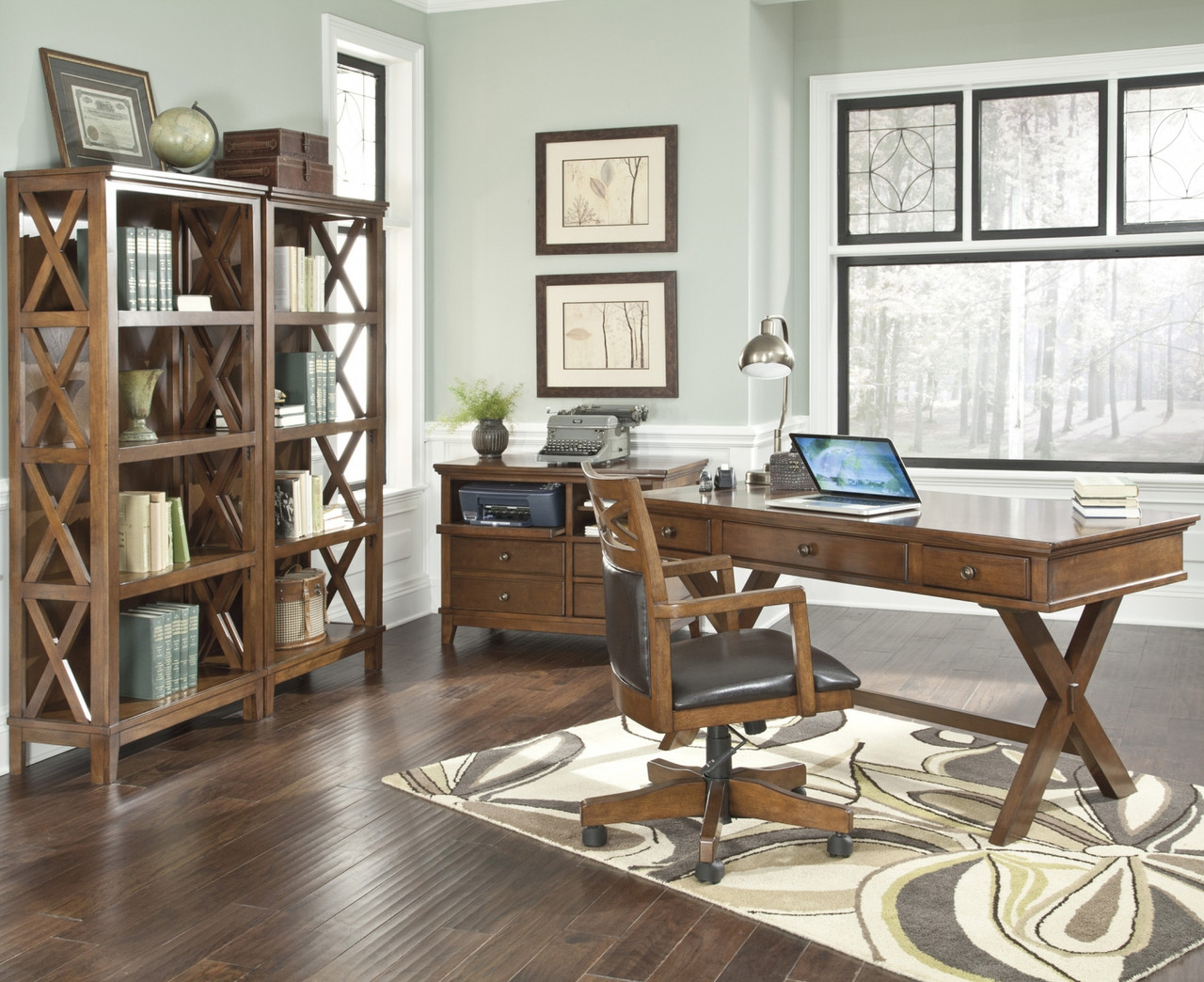 Home · Home Office · Office Collections; Burkesville Brown Collection