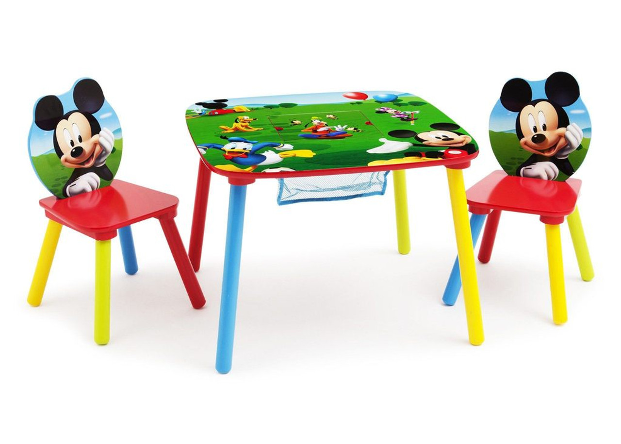 Mickey Mouse Clubhouse Table U0026 Chair Set With Storage ...
