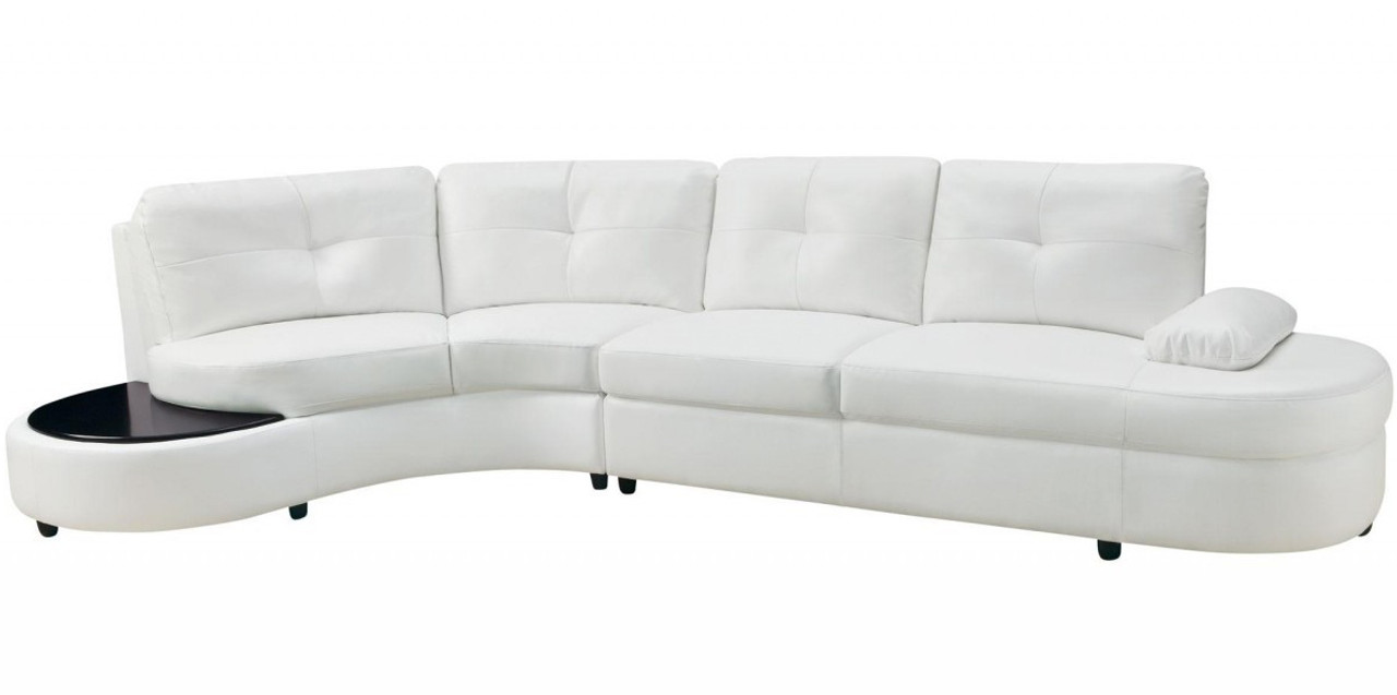 Luzano Sectional With BuiltIn Table CB Furniture - Sectional with built in table