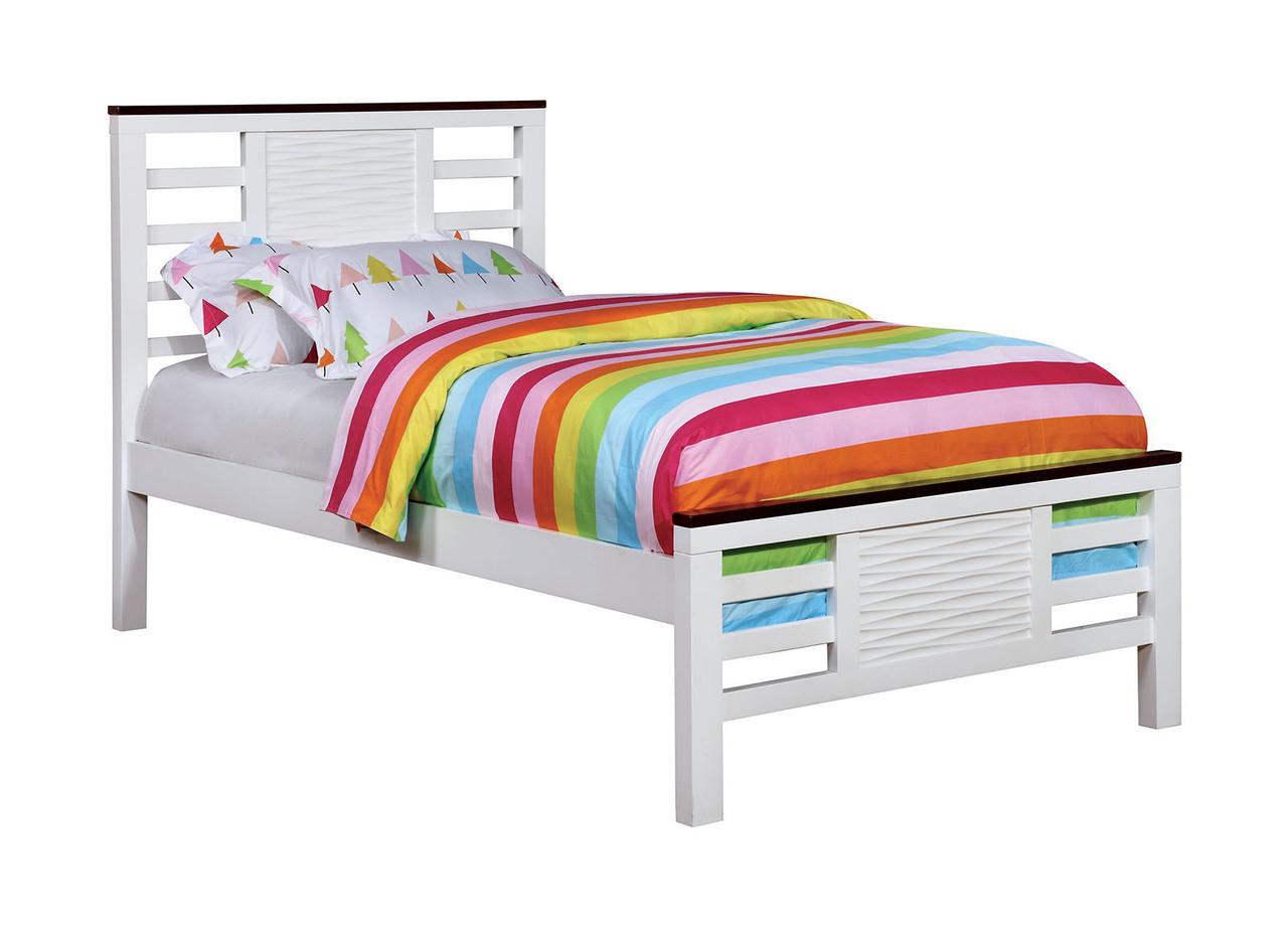 Belle Noir Two Tone Bed