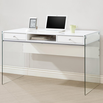 Ari White Modern Writing Desk
