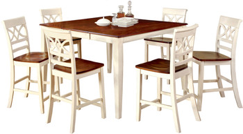 Akima White 7 Piece Dining Set
