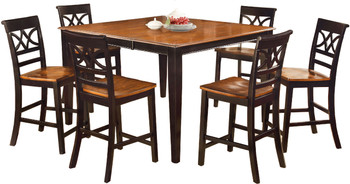 Akima Black 7 Piece Dining Set
