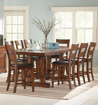Alyssa 9 Piece Counter Dining Set