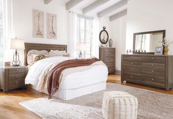 Cresthill Brown Headboard Bedroom