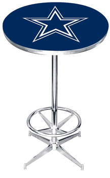 Dallas Cowboys Bar Table