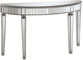 Dynasty Silver Mirrored Console Table/Sofa Table