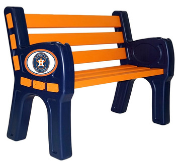 Houston Astros Outdoor Bench