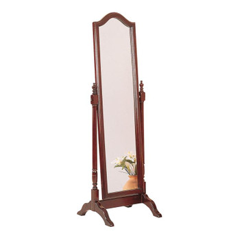 Eva Red Brown Tilt Mirror