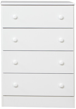 Coepto White 4 Drawer Chest