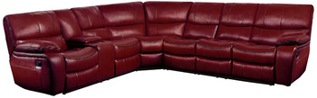 Tron Red 4-PC Reclining Sectional
