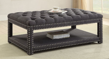 Mero Dark Gray Small Bench
