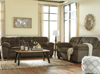 Alven Brown Loveseat