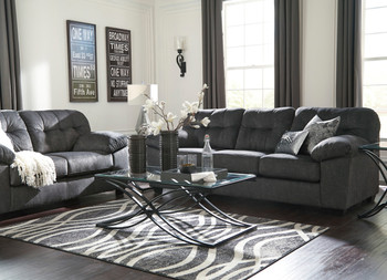 Alven Granite Loveseat