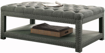 Mero Gray Small Bench
