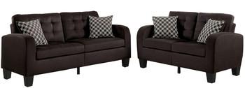 Bayley Brown Sofa