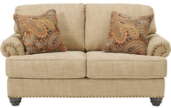 Howard Oatmeal Loveseat