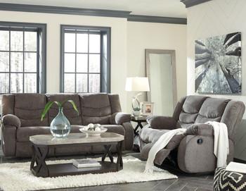 Sarge Gray Reclining Livingroom