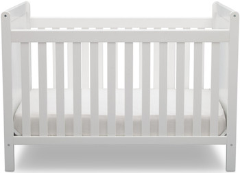 Dexi White 4-in-1 Crib