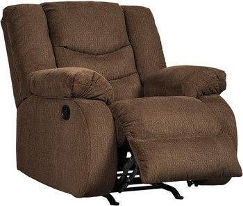 Sarge Chocolate Recliner