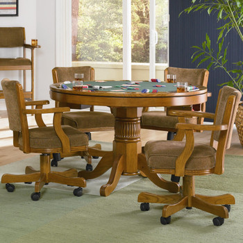 Coolidge Oak 3-in-1 Game Table 5-PC Set