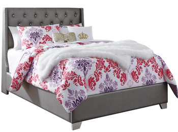 Elena Full Gray Bedroom Set
