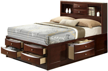 Watson Brown Storage Bed