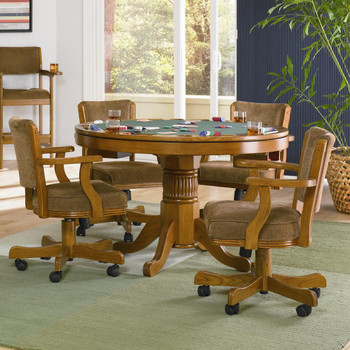 Coolidge Oak 3-in-1 Game Table