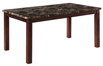 Arly Faux Marble Dining Table