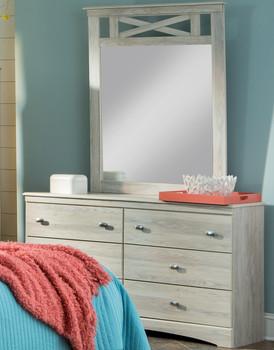 Xerces Gray Dresser & Mirror
